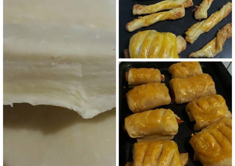Resep Puff Pastry Simple, Enak Banget