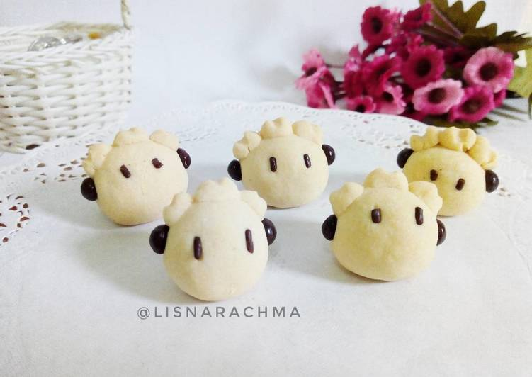 Fatty Sheep Cookies - cookandrecipe.com
