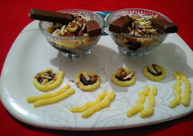 Easiest Way to Make Homemade Custard biscuit pudding