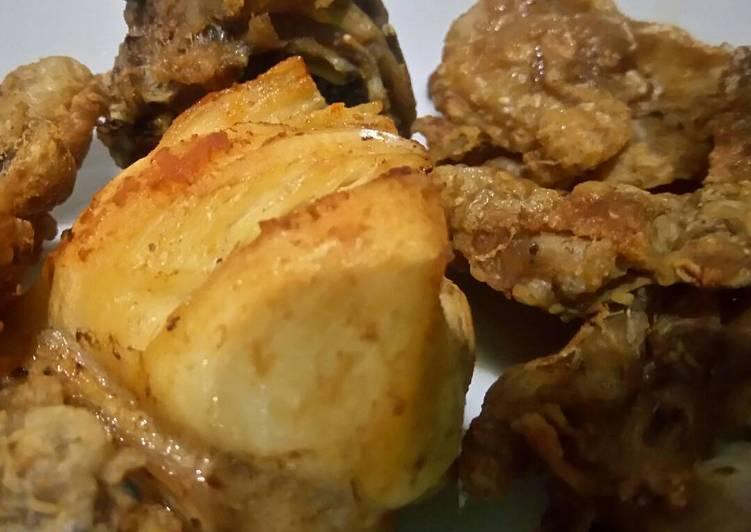 Resep Ayam Goreng Blue Band Oleh Ica Psaj Cookpad