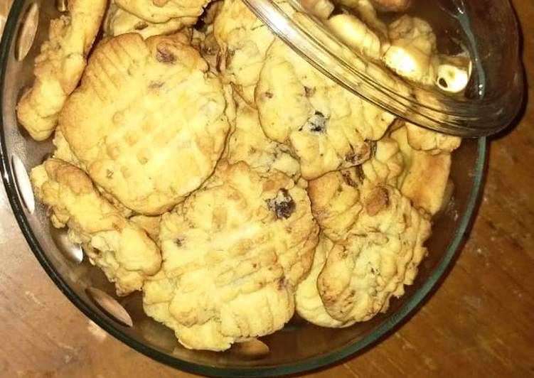 Cookies Kurma No Mixer (Anti Gagal)
