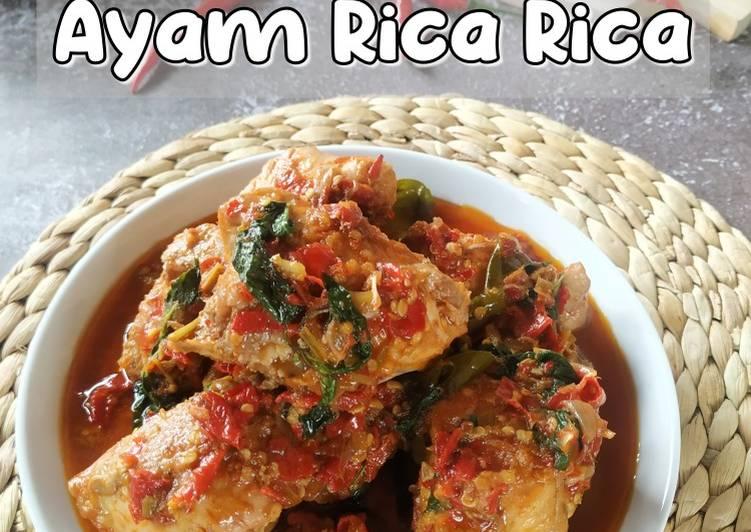Resep Ayam Rica Rica Anti Gagal