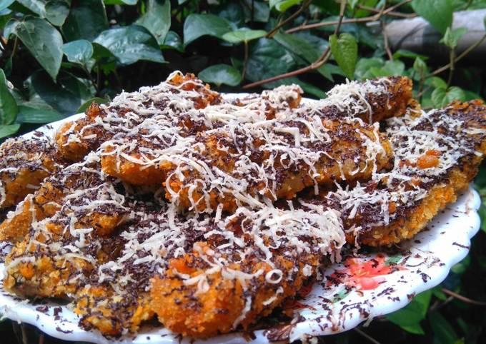 Pisang Goreng Bandung (Coklat Keju Crispy)