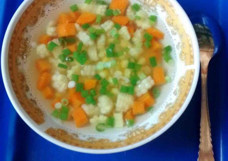 Sup sayur simpel