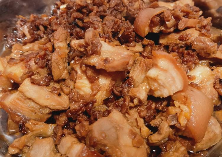 Resep Hong Bak Babi Kecap Anti Gagal Pecinta Daging Babi