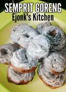 31 Resep Kue Kering Goreng Enak Dan Sederhana Cookpad