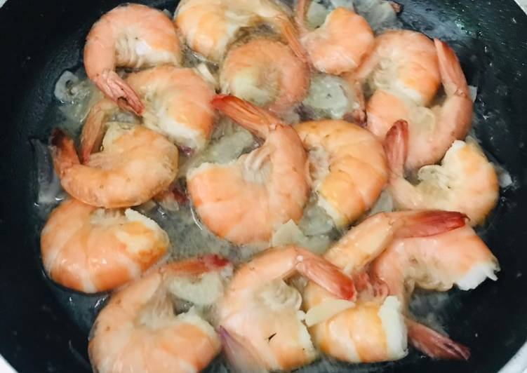 Tumis Udang Simple