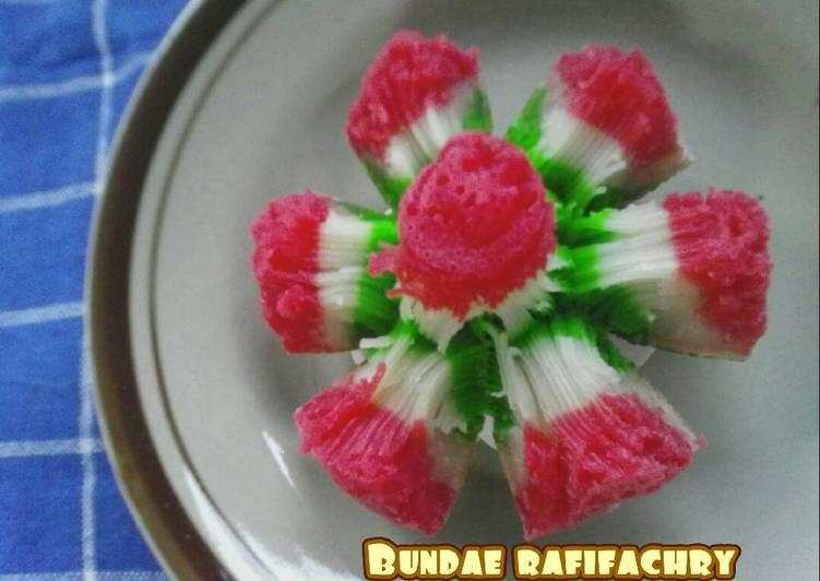 Bikang mawar cantik - cookandrecipe.com