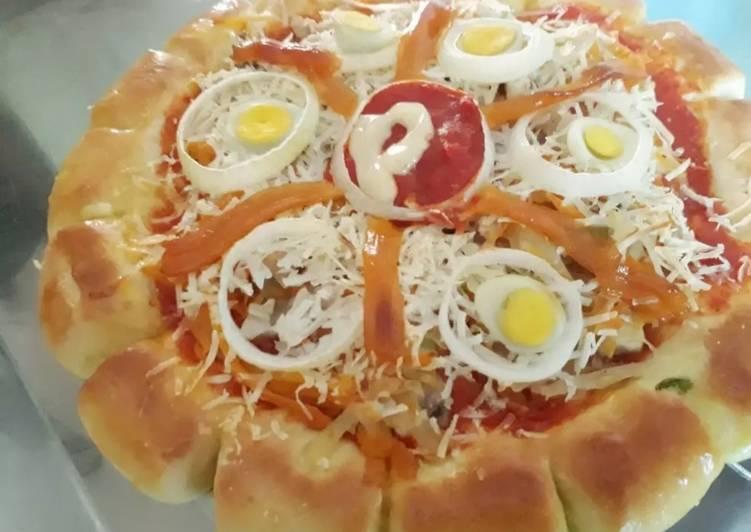 Pizza homemade lembut