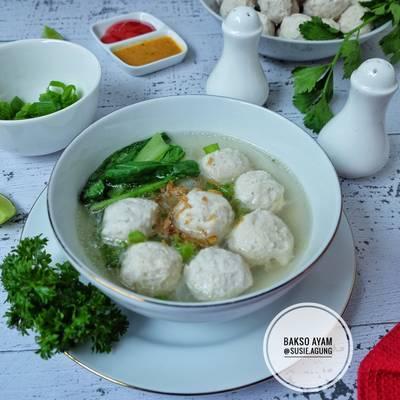 Resep Bakso Ayam Homemade Oleh Susi Agung Cookpad