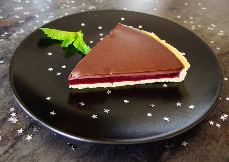 How to Cook Appetizing Tarte framboise chocolat
