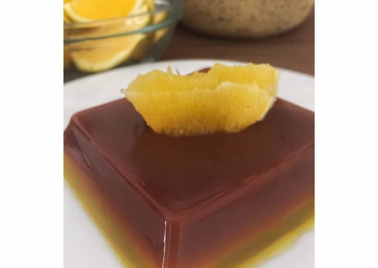#4 Puding Coklat Jeruk