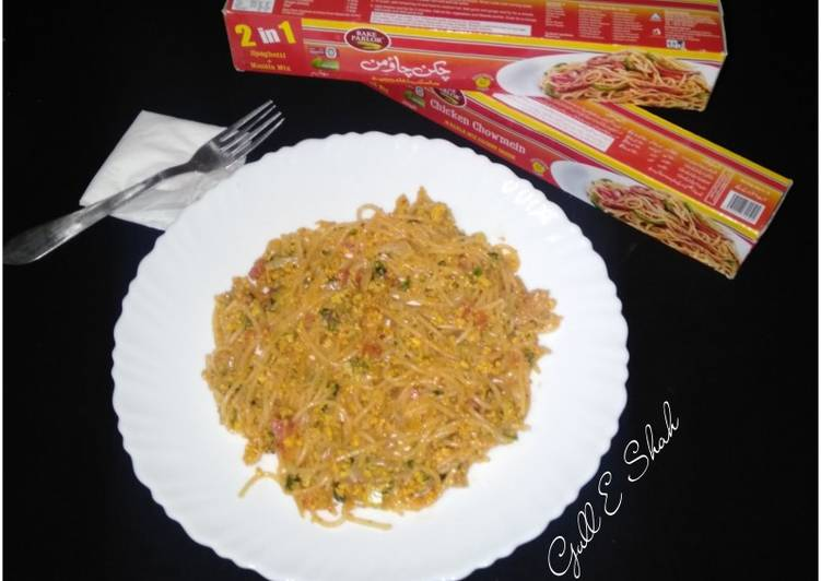 Recipe of Quick Omlate Spaghetti