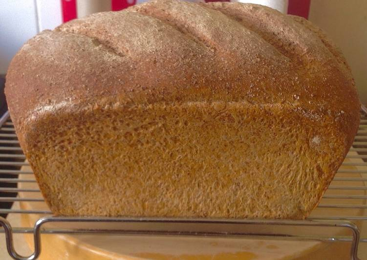 How to Prepare Quick Stone ground whole wheat artisan bread