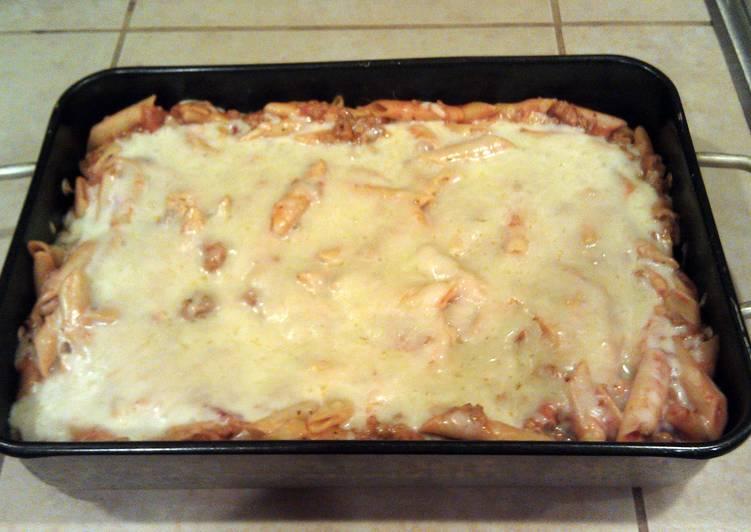 How to Make Perfect Cheesy Mostaccioli