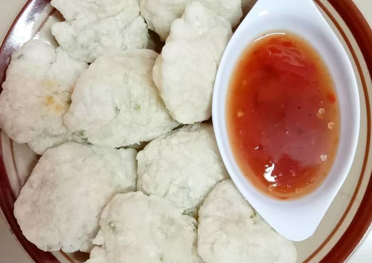 Cireng Crispy/Cireng Salju (sambal bumbu rujak)