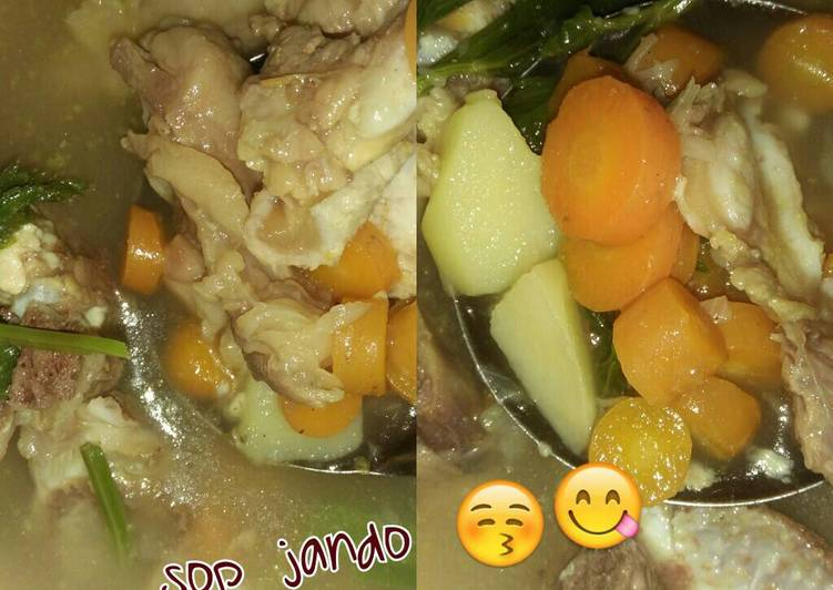 Resep Sop Jando Oleh Marilyn M Rukanda Cookpad