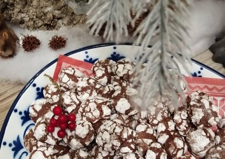 Crinkle cookies 🍪