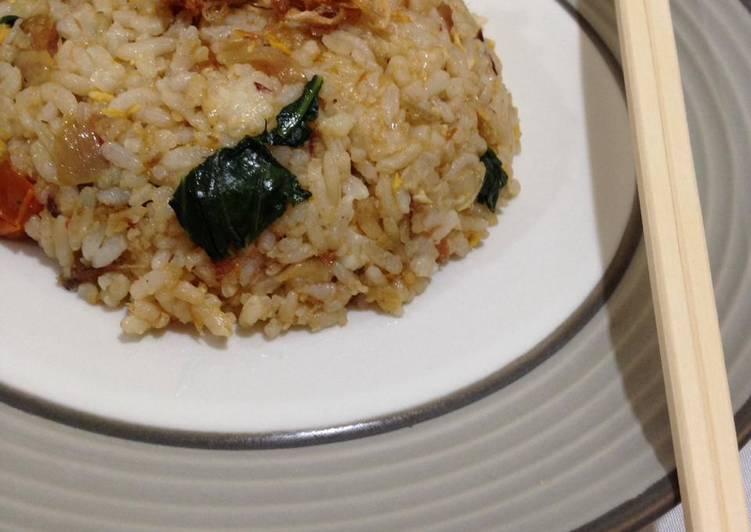 Resep Nasi Goreng Ikan Asin Anti Gagal