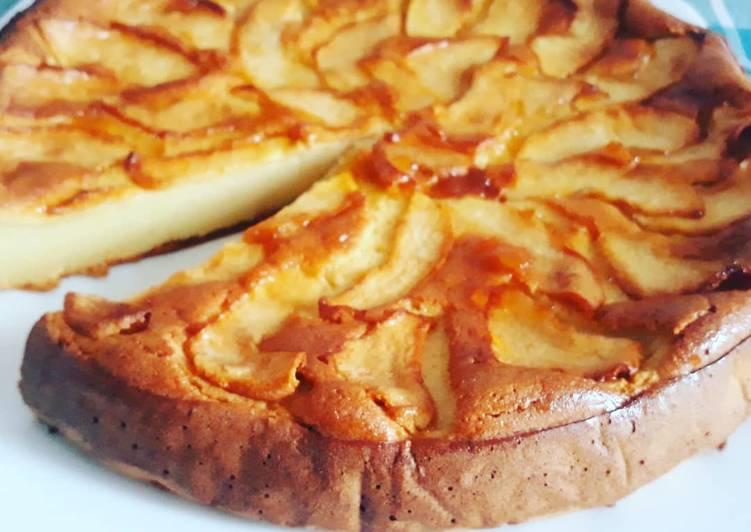 Ricetta Torta mousse di mele