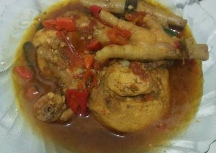 Ayam pedes mercon