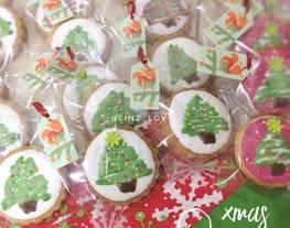 Xmas Cookies enak renyah - icing cookies - cookies natal - resep cookies mudah - kue natal lucu