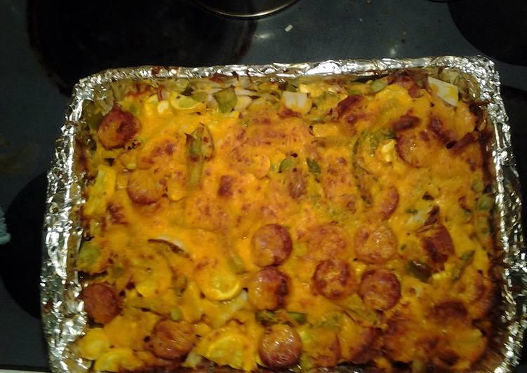 smoked sausage casserole