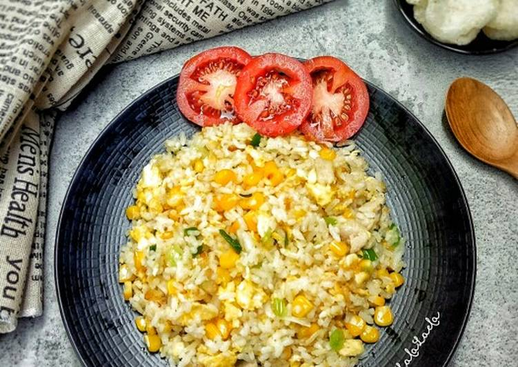 Resep Japanese Fried Rice Top