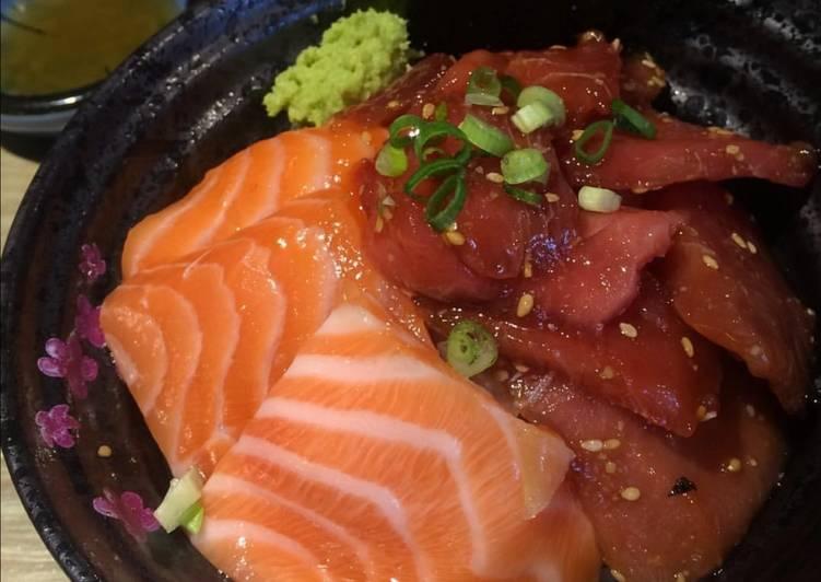 Salmon and tuna don