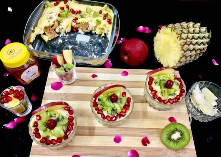 Steps to Make Homemade Baked Payassam Fruity Delight