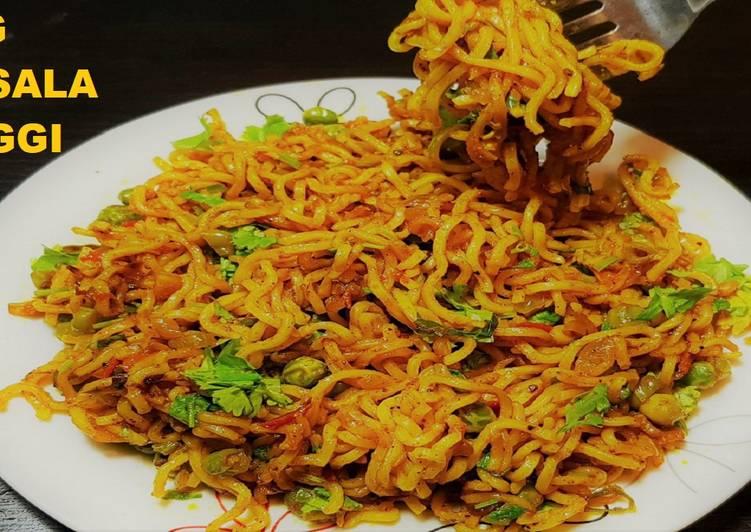 Veg Maggi Masala|Veg Maggi Noodles Recipe|Dry maggi masala