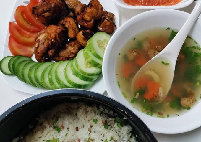 Nasi ayam cp