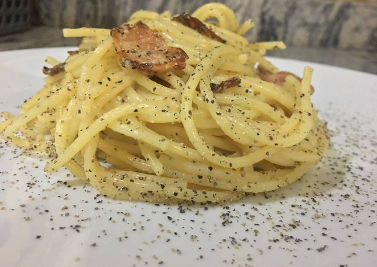 Recipe: Perfect Simplest Pasta Carbonara