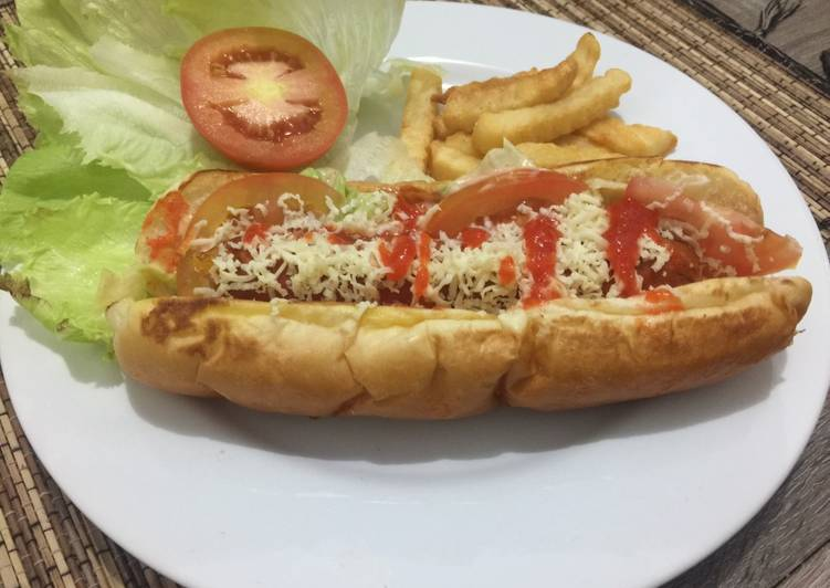 Hot dog ala herry