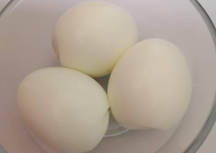 Tips Kulit Telur Tak Melekat Waktu Kupas