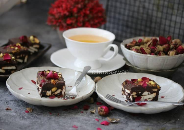 Brownie Biskut Marie #SyedMunawwar #Brownies