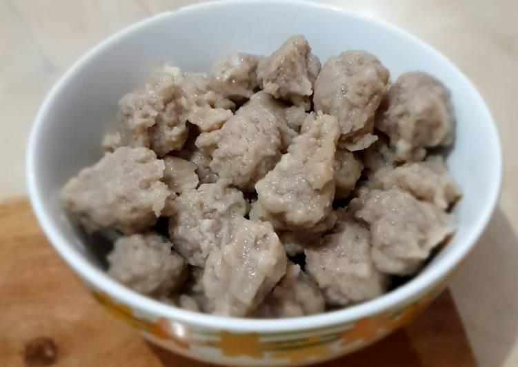 Pentol (Baso) Cilok Daging Sapi ala Jajanan Jadul