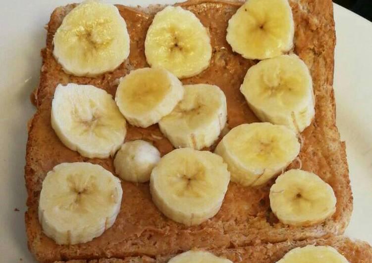 Recipe: Delicious Kids Peanut butter & Banana sandwich