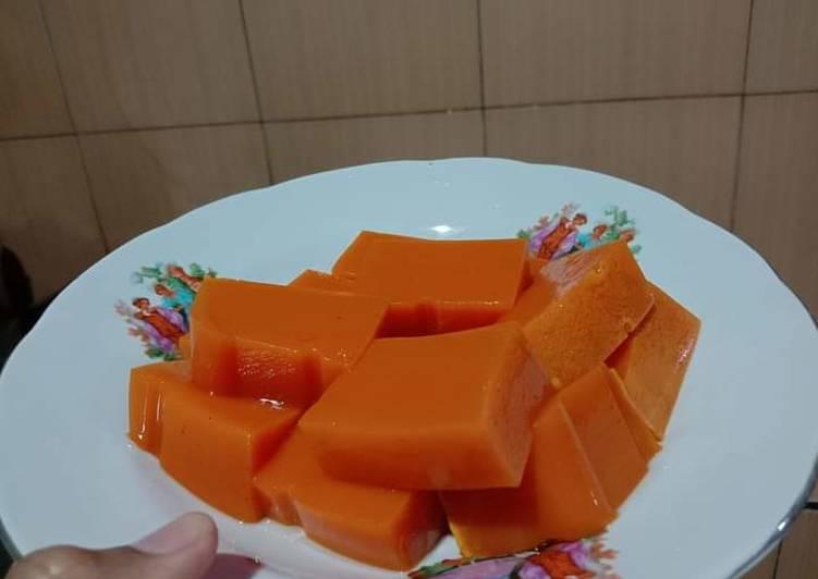 Puding Labu Kuning (snack MPASI 10m baby Arka)