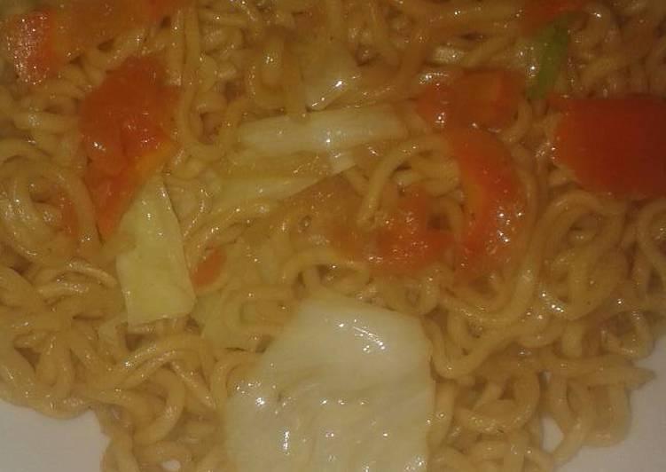 Mie Goreng Huhah lezat no mecin