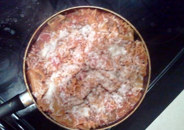 1 skillet lasagna