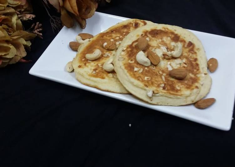 Mixed Dry Fruit Pancakes
