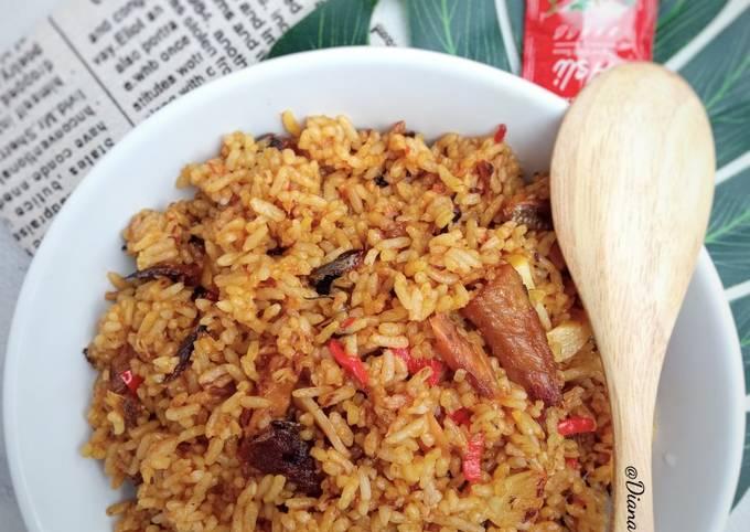 Nasi Goreng Pindang Tongkol