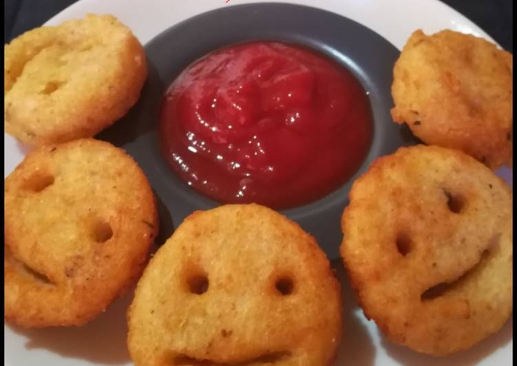 Simple Way to Make Homemade Potato Smileys🙂