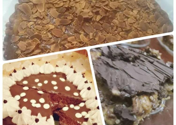 recette Gâteau froid au chocolat délicieux