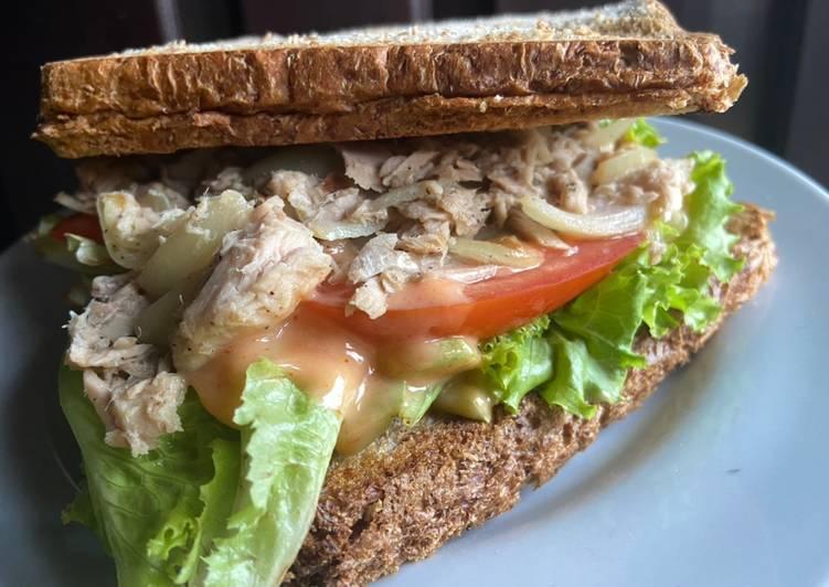 Sandwich Tuna Mayo diet