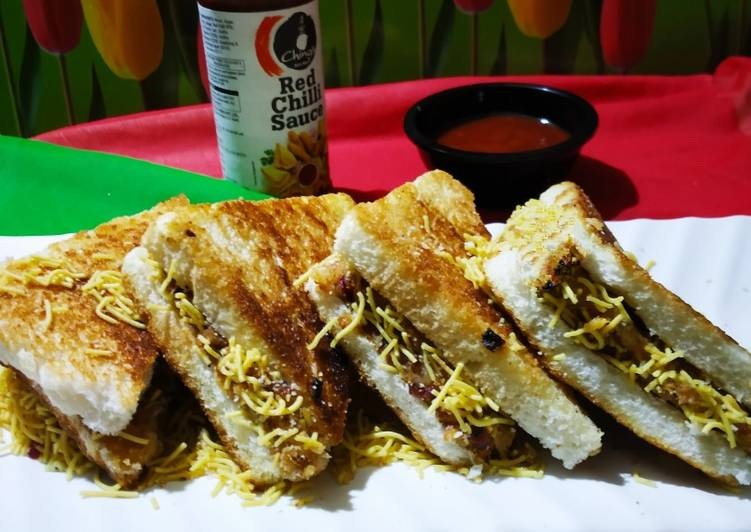Recipe: Appetizing Dabeli Sweet Potato Sandwich