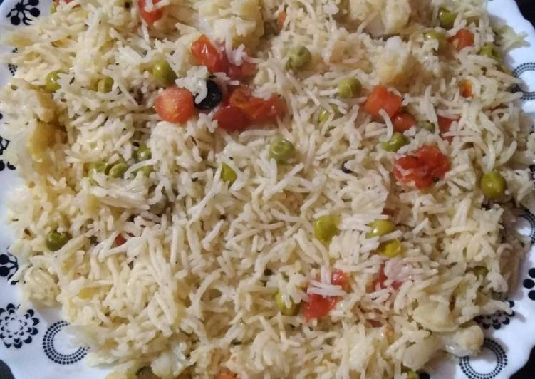 Chilli veg rice