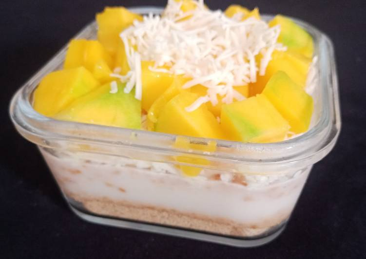 Dessert Box Pudding Mangga Regal