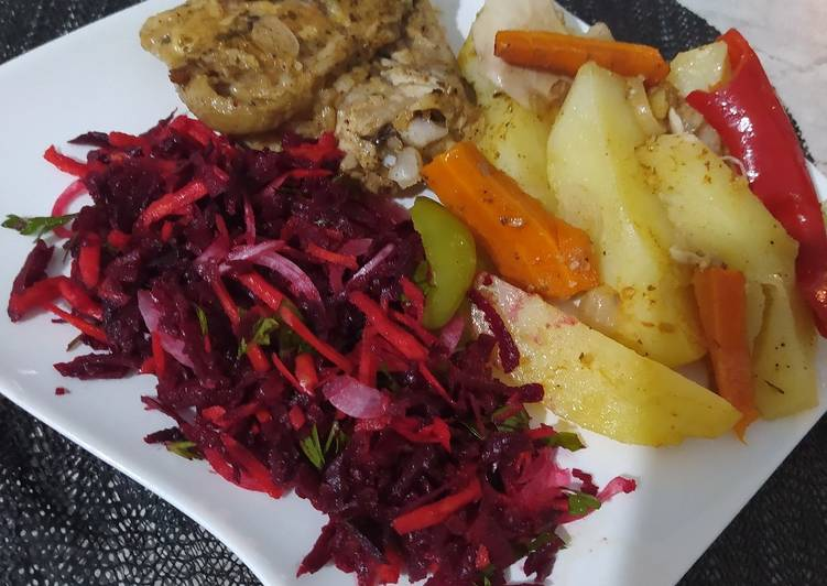 How to Make Favorite Beetroot and carrot salad